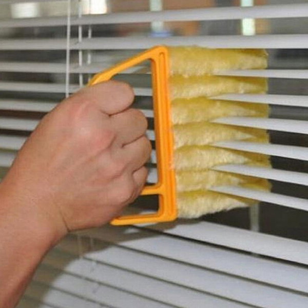 Microfibre Venetian Blind Brush Window