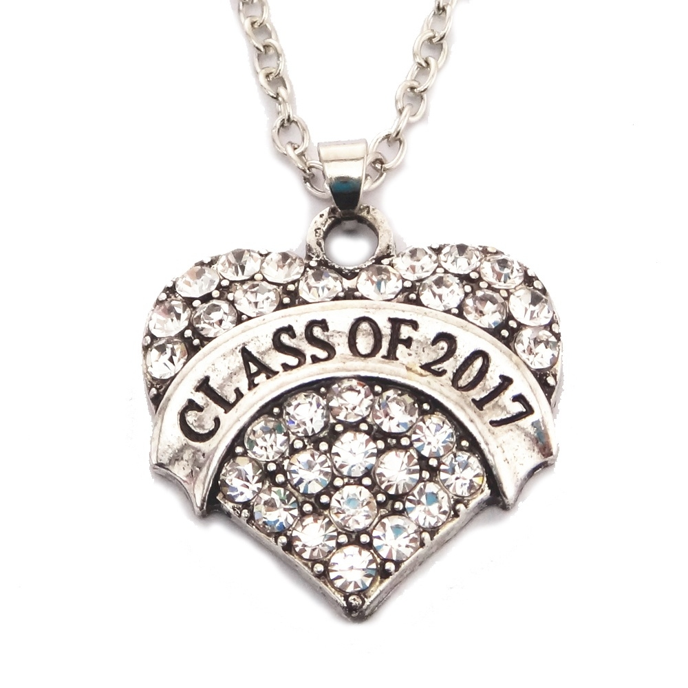 s class of 2017 necklace jewelry
