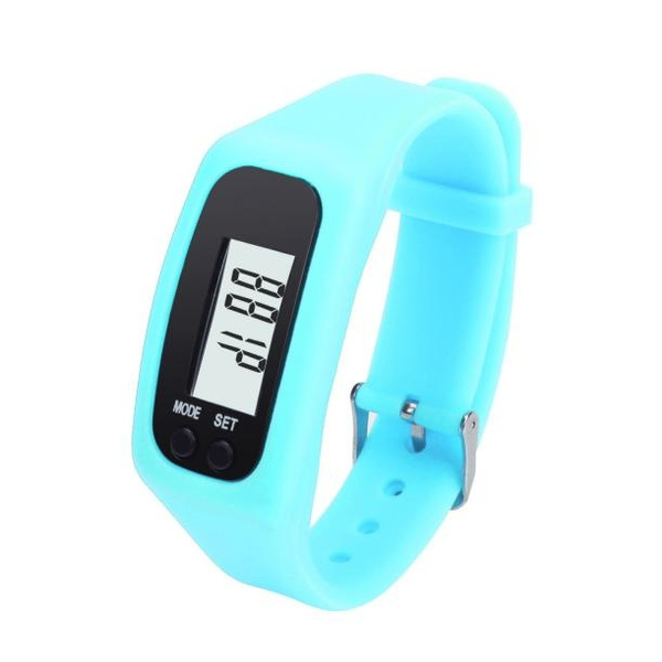 Picture of Ulamore Digital Lcd Pedometer Run Step Walking Distance Calorie Counter Watch Bracelet Sport Watch