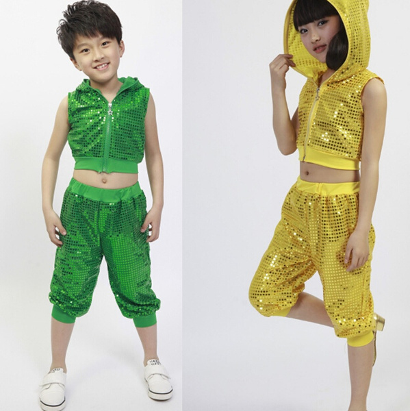 Wish | Bright Girls Boys Modern Jazz Hip Hop Dance Costumes Kids Dancewear Topu0026Pant  sc 1 st  Wish & Wish | Bright Girls Boys Modern Jazz Hip Hop Dance Costumes Kids ...