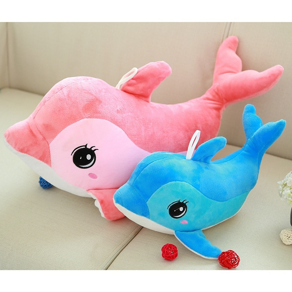Wish Big Dolphin Stuffed Animal Large Plush Doll Toy Birthday