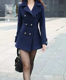 casual coat, woolen coat, Winter, woolen
