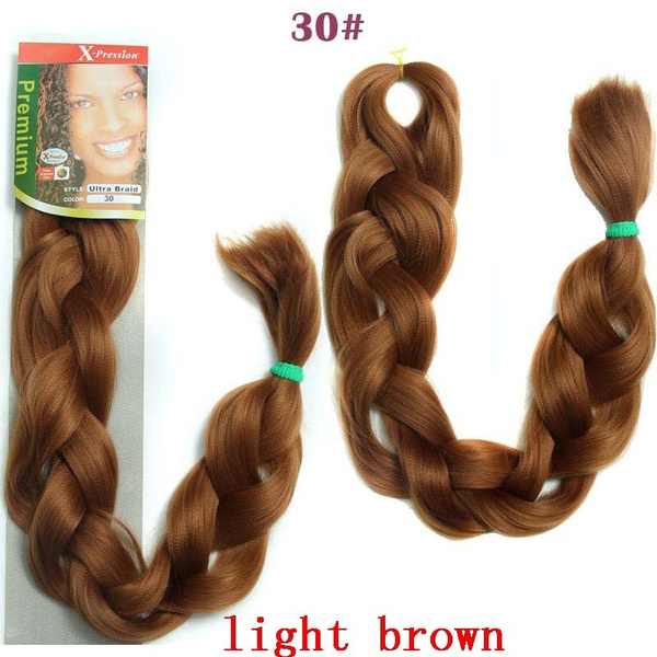 Wish 86inch 2pcslot Synthetic Braiding Hair 165gpcs Total 330g