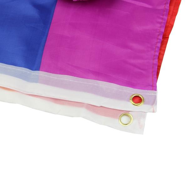 90x150cm / 5PCS 14x21cm  Rainbow Flag 3x5 FT  Polyester Lesbian Gay Pride