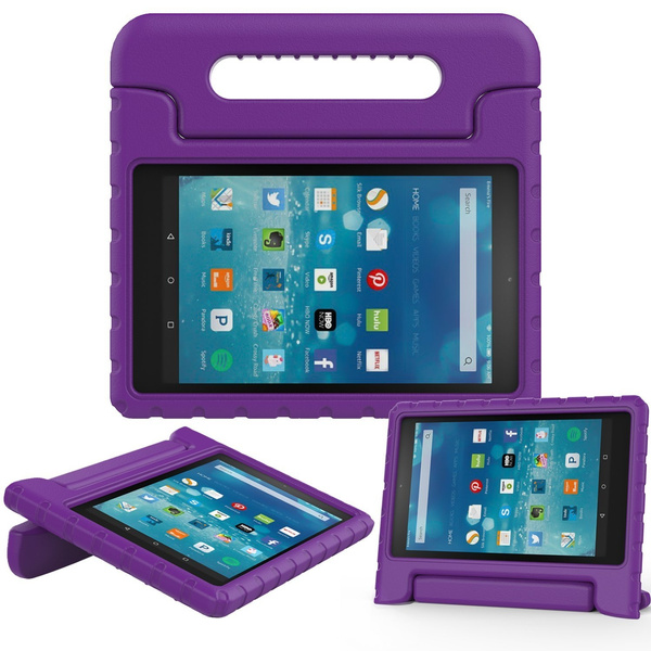 TRELC Fire 2015 Case - Kiddie Series Light Weight Shock Proof Convertible  Handle Stand Cover Kids Friendly for Amazon Kindle Fire Tablet 5th