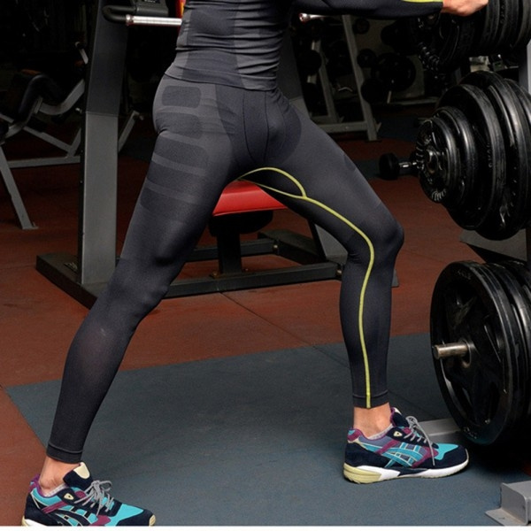 9ed3130919eca Fashion Men's Athletic Pants Compression Running Training Base ...