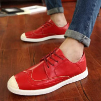 wish  men's fashion casual canvas shoes mens outdoor flats