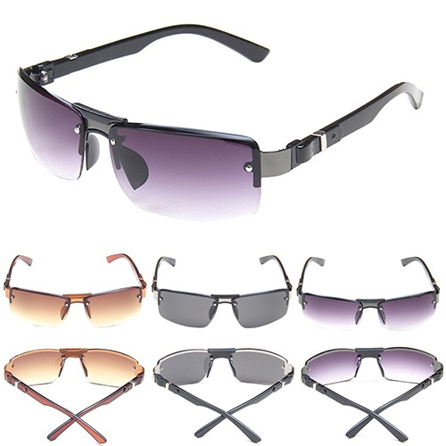 Picture of Men's Cool Eyewear Aviator Shades Travel Driving Fishing Rectangular Sunglasses