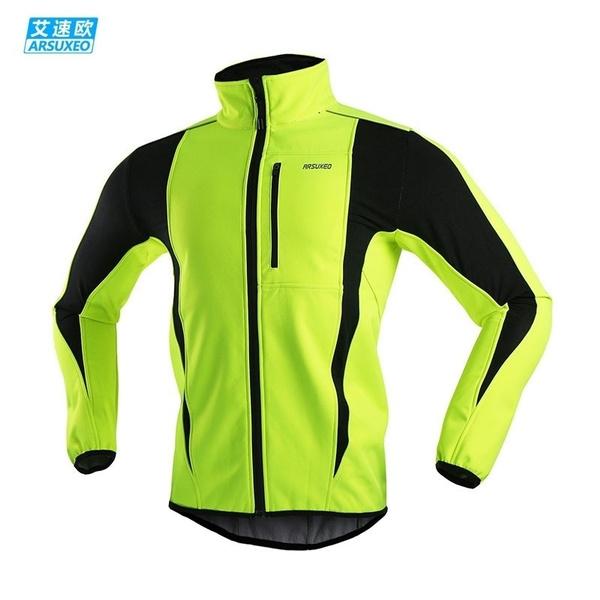 Sports & Entertainment Men Winter Waterproof Jacket Cycling Jacket Warm Up Fleece Bicycle Clothing Windproof Waterproof Sports Coat Mtb Bike Jersey 16h Hiking Clothings