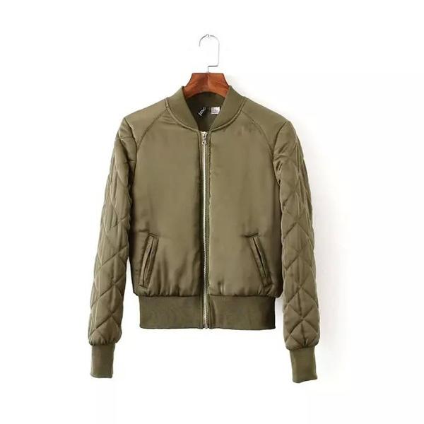 1a974857 2016 Women Autumn Winter Aviator Jackets Bomber Jacket Women   Wish