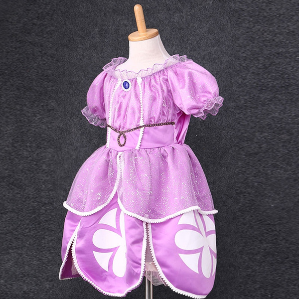 Wish | Princess Sofia The First Childs Fancy Dresses Kids Costume Party Doll : princess sofia costume for adults  - Germanpascual.Com
