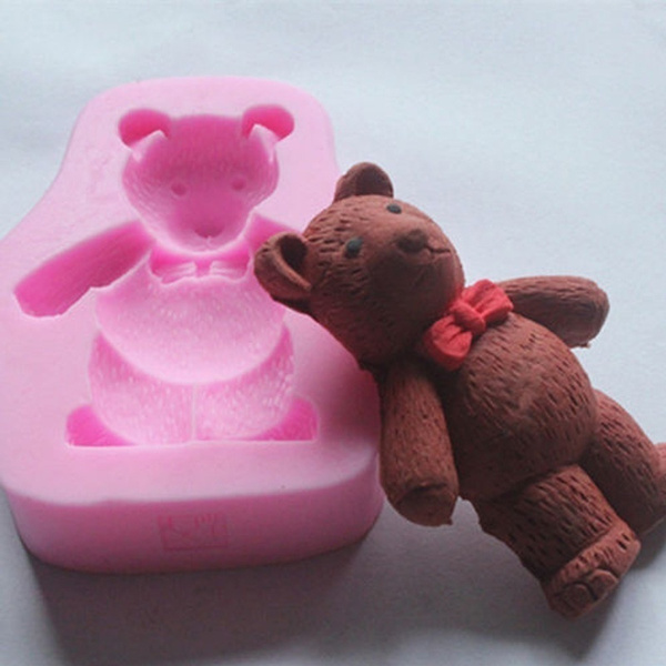 teddydiymold, cakedecormould, bearsugarcraftmold, Christmas
