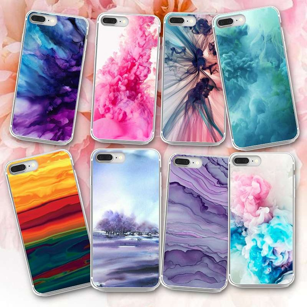 half off f960d f2488 Cool Marble Pattern Custom Painted Phone Case Cover For iPhone 7 7 Plus 6  6s 6 Plus 6s Plus 5 5s SE Samsung Galaxy S8 S8 Plus S6 S6 Edge Plus S7 S7  ...
