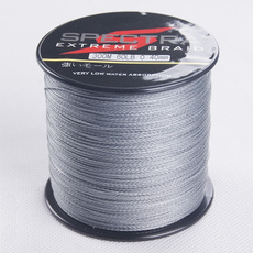 4 weaves 300m per roll  PE Multifilament braided fishing line,6-100LB.