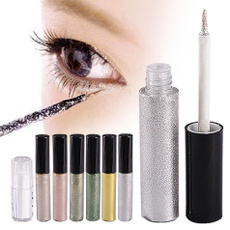 Professional Cosmetics Shining Bronzer Gold Eye Shadow 7 Colors Eyeshadow Shimmer Glitter Shining Makeup