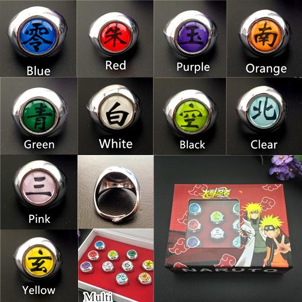 Get your favorite Akatsuki memeber ring! – Fanimos