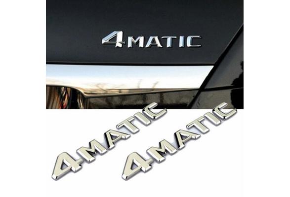 Auto car 4Matic 4 Matic BADGE STICKER FOR MERCEDES  W124 CLS E R S CLASS