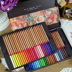 Box, pencil, art, Iron