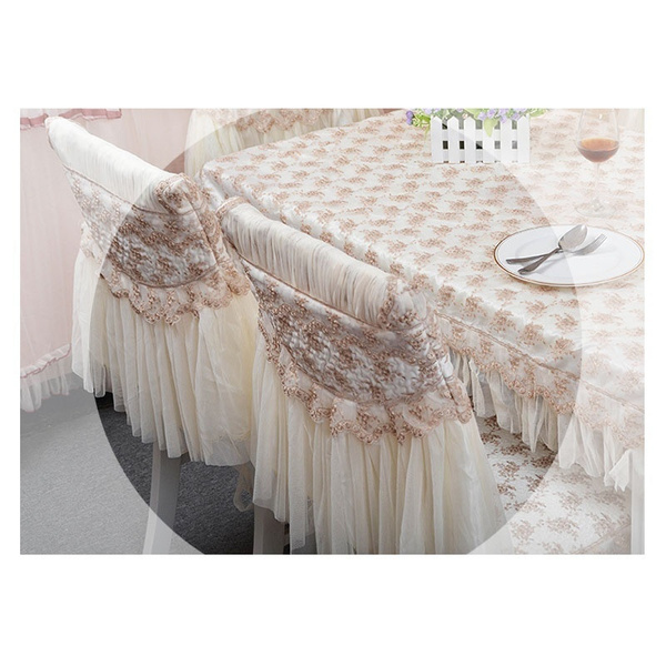 Wish Fashion Dining Table Cloth Chair Covers Cushion Tablecloth