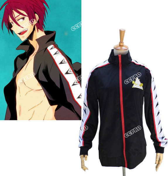 Unisex Clothing Shoes Accessories Free Iwatobi Swim Club Rin Matsuoka Jacket Uniform Cosplay Costume Outfit Suit Rin matsuoka super cut)all credits to the creators of free!all scenes relating to rin, because i love this guy so much!part 2. grace