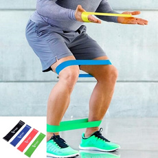 TOPIT 1pc Latex Fitness Strength Tension Resistance Training Bands (Thickness 0.5mm 0.7mm 0.9mm 1.1mm )