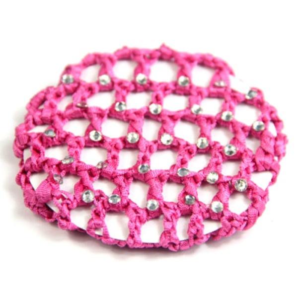 Wish Girls Bun Cover Snood Hair Net Ballet Dance Crochet Mesh