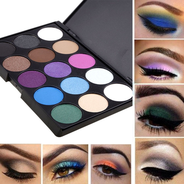 Pro Cosmetic Eye Shadow Pigments Makeup Eyeshadow Palette Matte Set