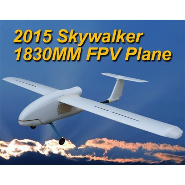 New 2015 Skywalker 1830 1830mm FPV Plane New Arrival EPO Large Flying Wing  White RC Airplane Latest Version Remote Control Drone