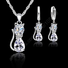 Sterling, Cubic Zirconia, Woman, Jewelry