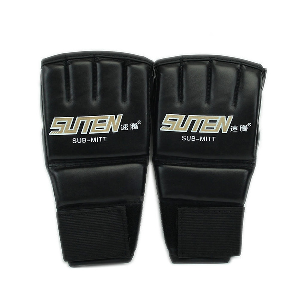Wish | Boxing Gloves Gym Muay Thai MMA UFC Training Punching Bag Half Mitts Sparring
