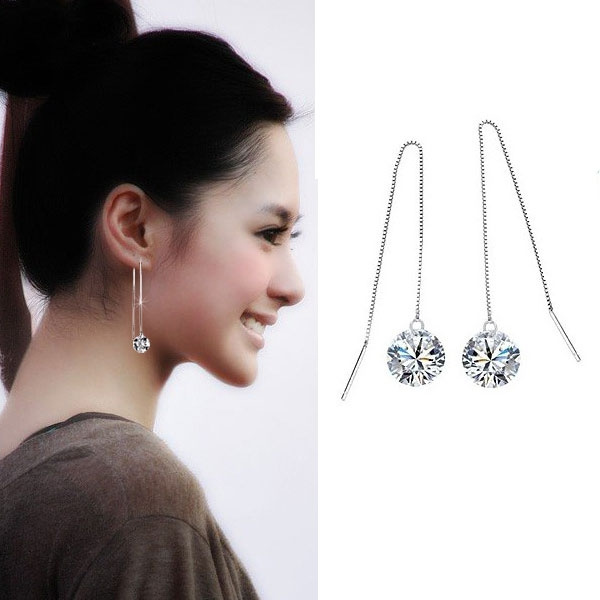 Sterling, Cubic Zirconia, Woman, sterling silver