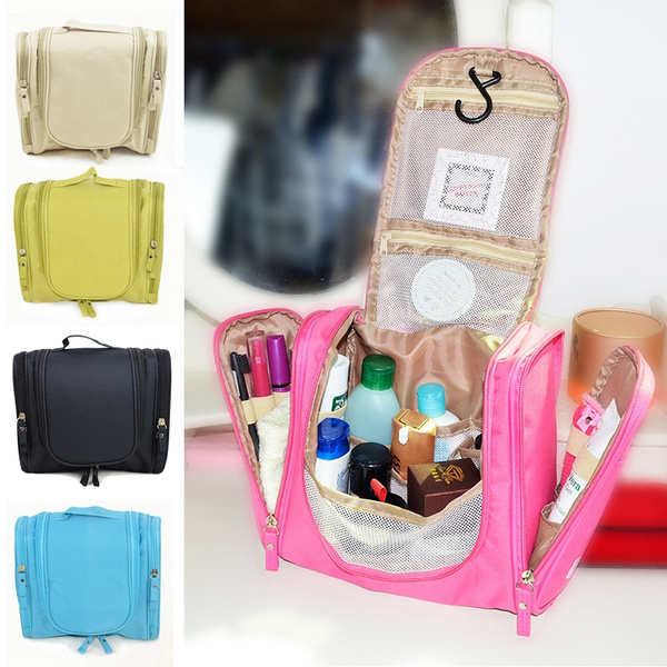 Picture of Women Lady Makeup Cosmetic Case Toiletry Bag Travel Handbag Organizer