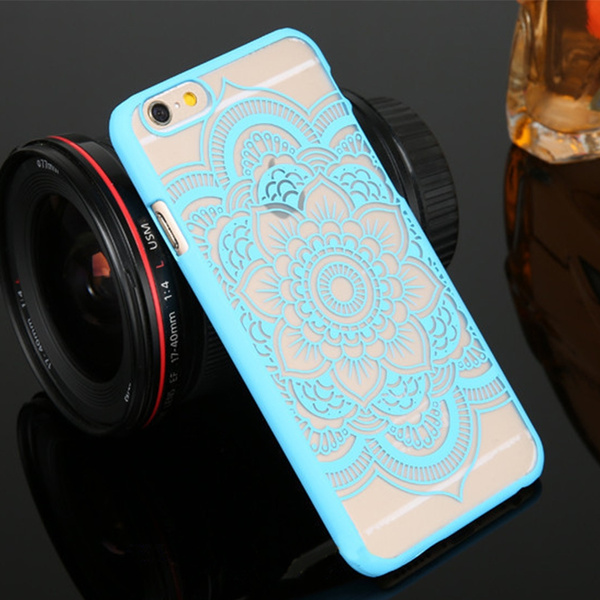 Picture of Tribal Mandala Henna Vintage Lace Hard Back Case Cover For Iphone 6 6s 4.7 / Iphone 6 Plus 5.5