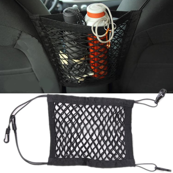 Nylon Car Truck Storage Luggage Hooks Hanging Organizer Holder Seat Bag Net Mesh