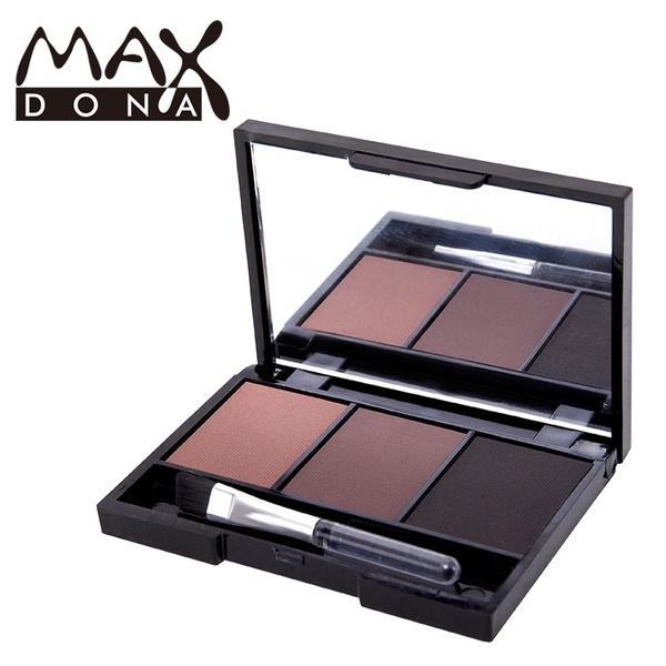 Picture of Eye Brow Makeup Kit Set 3 Color Waterproof Eye Shadow Powder Palette Women Cosmetic