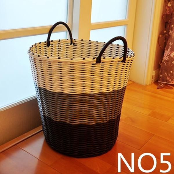 Wish | Man Made Big Basket For Home Laundry Basket Toys Storage Basket  Dirty Clothes Storage Bascket