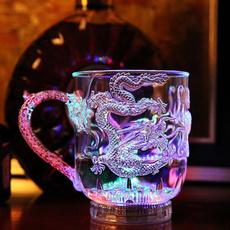 ledbeercup, rainbow, led, drinkingcup