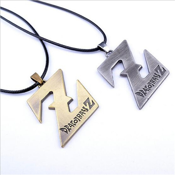 New Pattern Fashion Comic Dragonball Evolution Saiyan Symbol Z Word Pendant Necklace