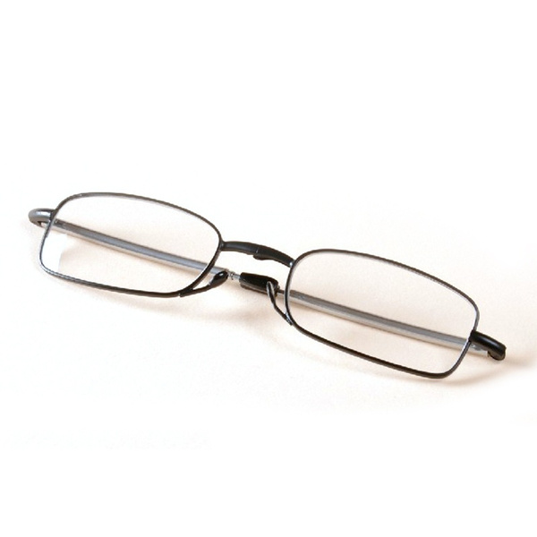 New Folding Reading Glasses Rotation Eyeglass +1.5 +2.0 +2.5