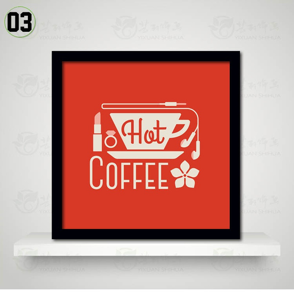 Wish | Coffee Time Theme Wall Display Retro Pop Art Posters for SOHO Office Cafe Bistro Coffee Shop Chef Kitchen DIY Home Decor Interior Designs Canvas ...  sc 1 st  Wish & Wish | Coffee Time Theme Wall Display Retro Pop Art Posters for SOHO ...