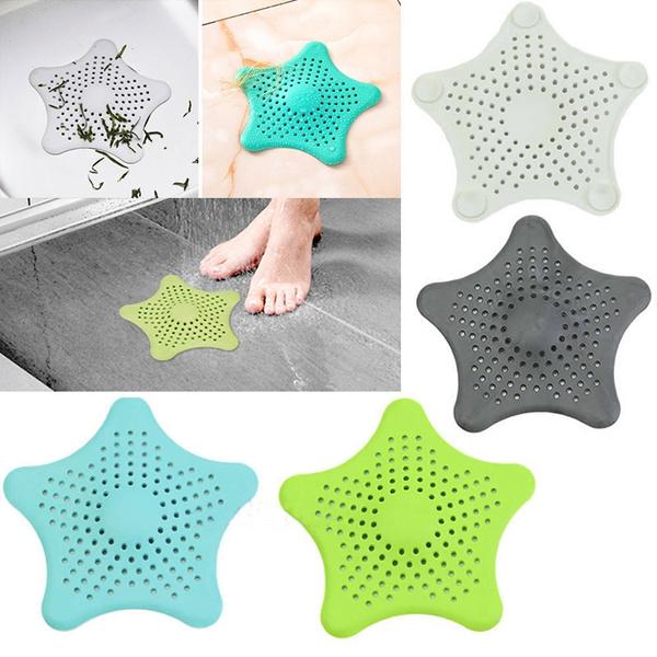 Bathroom Shower Drain Cover  Hair Filter