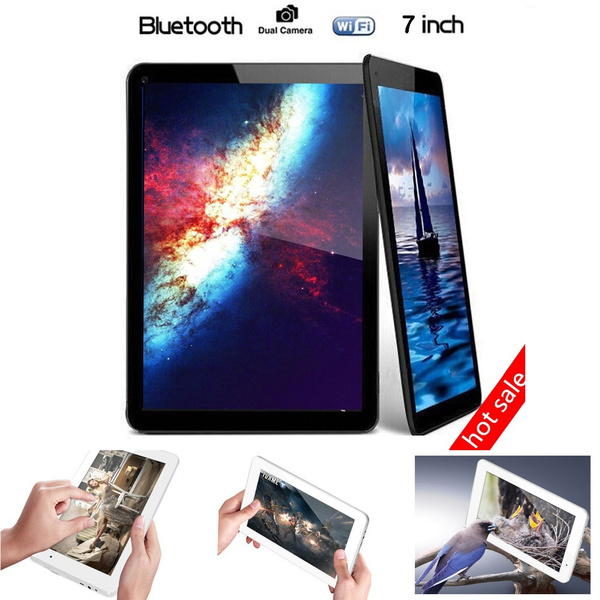 Picture of 7 Inches A33 Android 4.4 Quad Core Dual Camera 1gb 4gb Tablet Pc Wifi Bluetooth Eu Plug