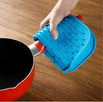 hot Amazing Durable Silicone Round Non-slip Heat Resistant Mat Coaster Cushion Placemat Pot Holder