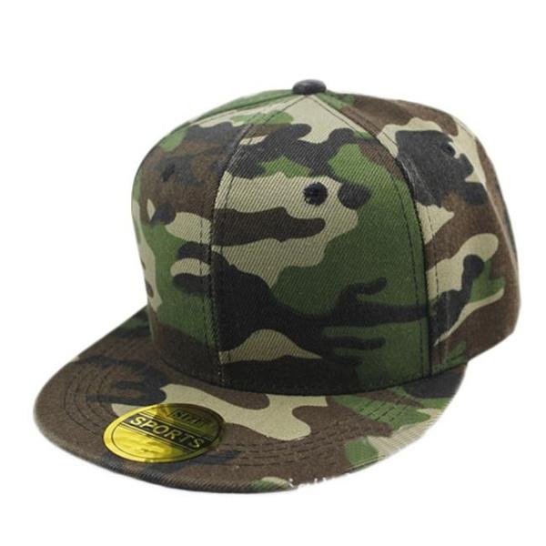 Men Women Camouflage Baseball Cap Hip Hop Dance Hat Cap Worldmart