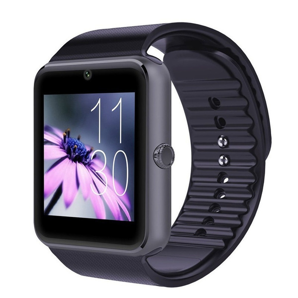 Picture of Fashion Smart Watch Gt08 Clock Sync Notifier With Sim Card Bluetooth Connectivity For Smartwatch Phone