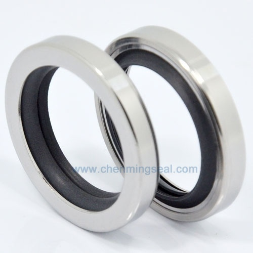 CDL40X62X8mm Screw Air Compressor Rotorcomp NK60/B60/B101 Spare Parts Dual  Lip PTFE Oil Seals