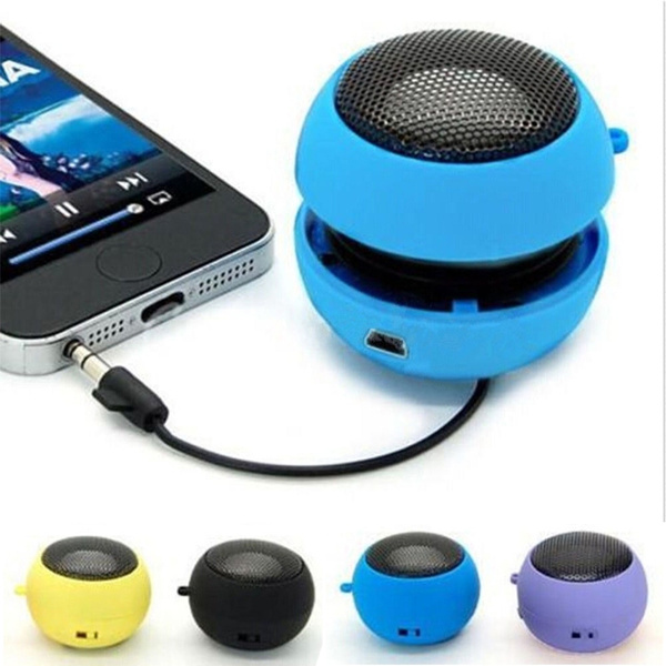 Picture of Mini Hamburger Speaker Amplifier Audio Player For Phone Ipod Tablet Laptop Pc