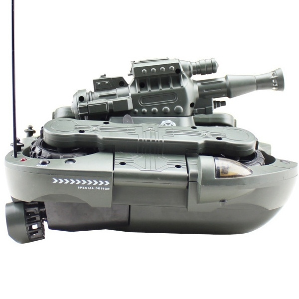 Amphibious Remote Control Toy Rc 4CH World of Tanks Metal Tank RC Tank  Model Best Toy or Gift