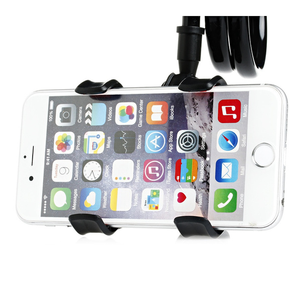 Universal Lazy Mobile Phone Holder Stents 360 Degree Rotating Flexible Bed Desk Table Clip Bracket Phoneholder 4-6.3 Inch