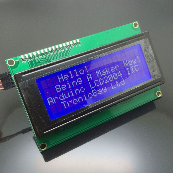 I2C IIC Interface RGB LED Screen LED 1602 + Keypad For Raspberry Pi